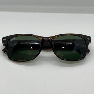 "Ray-Ban ""New Wayfarer"" Tortoise Green Lens 2132"